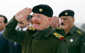 As if insurgents weren't bad enough, there are also ginger insurgents.  Saddam Hussein's former deputy, Izzat Ibrahim al-Douri, is now an ISIS field commander.